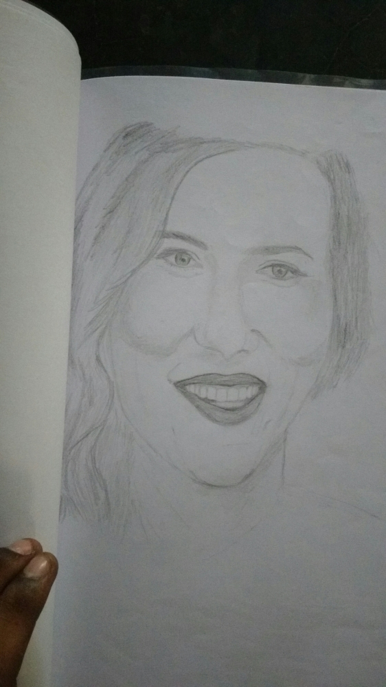 Scarlett Johansson by rajagopal1